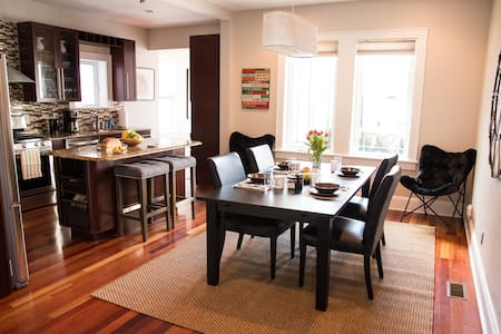 Townhouse Luxury Mins To Manhattan - West New York - Hus