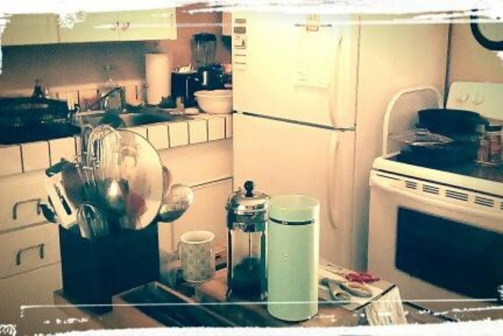 Retro Kitchen Gally