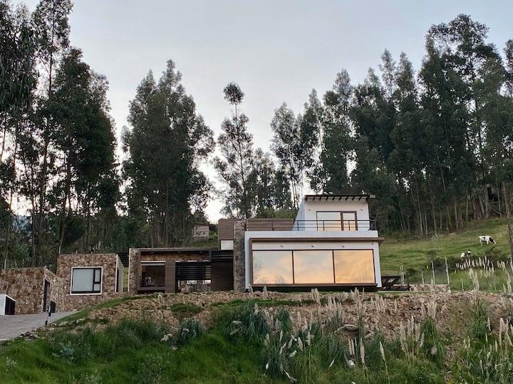 Suite de luxe avec vue impregnable sur Cuenca