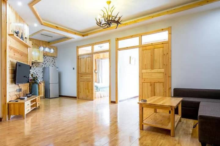 Yuewan Super Comfy Apartment DT Chongli 5ppl. max