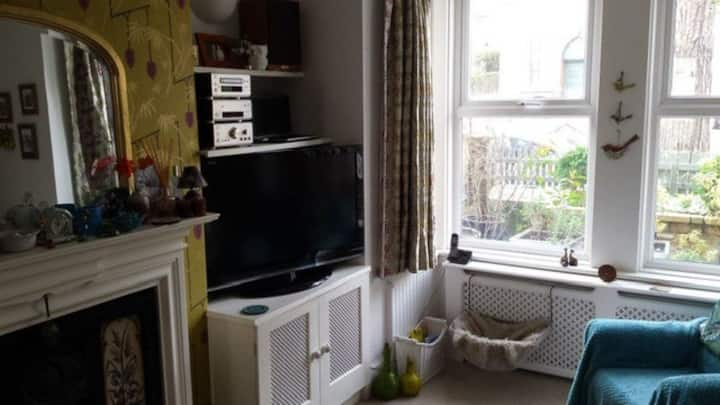 Lovely quiet room in period property, Fiveways
