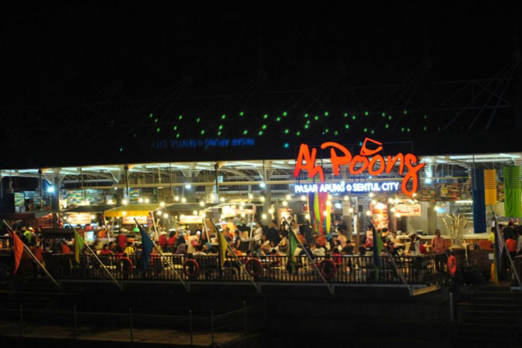 Pasar ahpoong, local taste culinary
