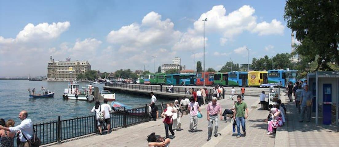 Constantinopolis istanbul peaceful home Bosphorus