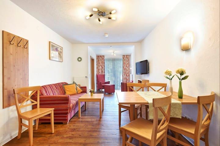 Familotel Engel, (Todtnau), Familienappartement Linde, 45 qm, 3 Raum
