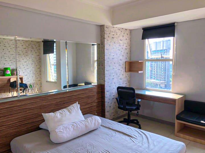Silkwood Residences cozy studio with WiFi
