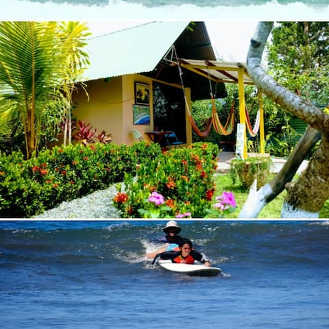 BeachBungalow,A/C,Breakfast,Pool,learn to surf