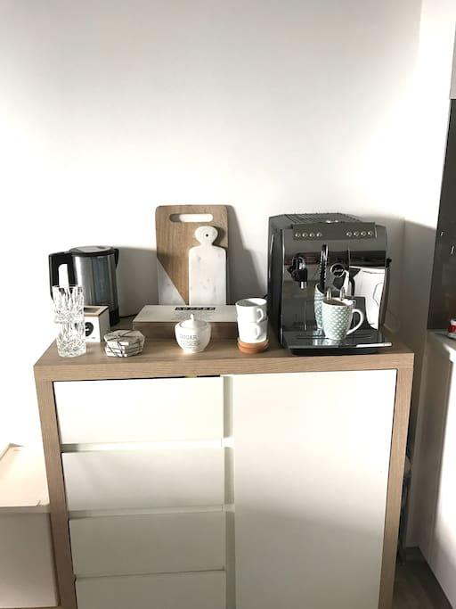 Coffee station