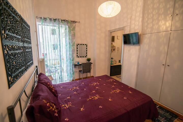 Appartement équipé,accueillant, proche de la mer!