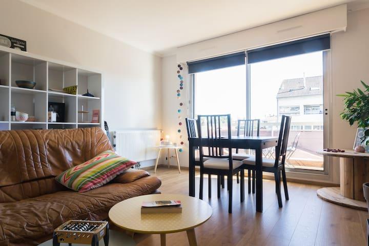 Appartement confortable et calme - Dijon - Wohnung