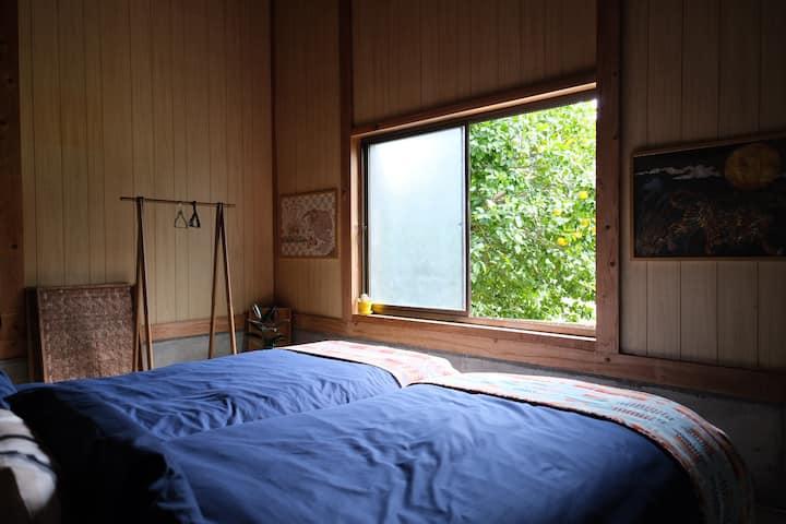 【New】Designed cabin in Shimanto Riverside Hideaway