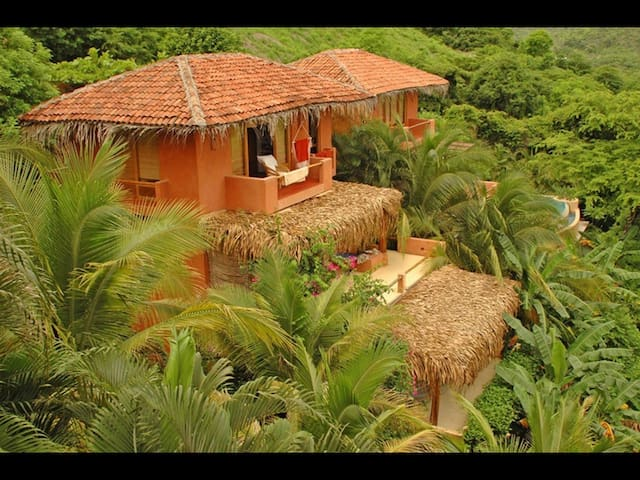 Ocean view tropical house - casa Bahia Norte