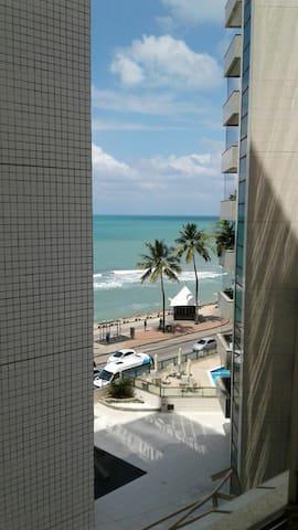 Apartment w seaview, near beach & central - Recife - Lägenhet