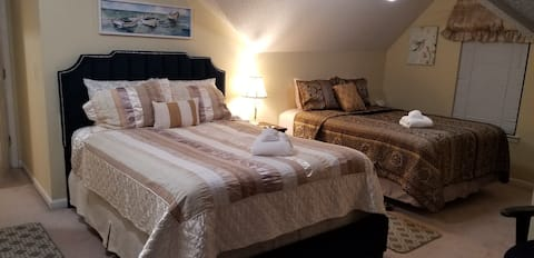 Buford GA Lovely Bedroom # 5 Sunny, Bright & Airy