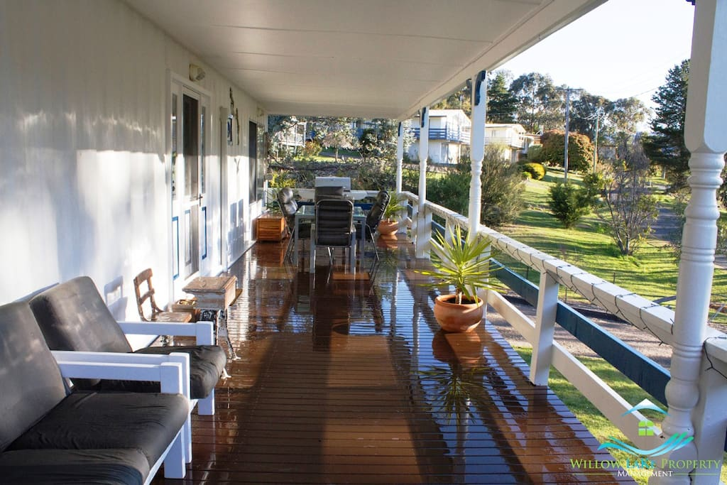 Relax on the stunning front deck or cook up a storm on the BBQ