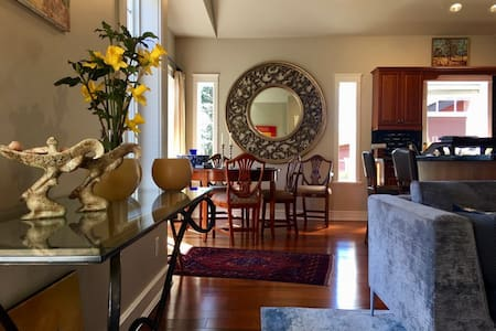 Stylish Suite in Park Setting