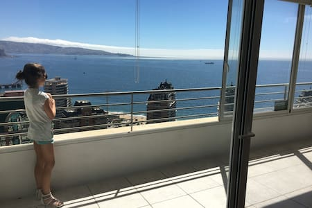 La mejor vista al Mar en Viña junto a mall y playa