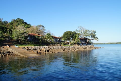 Waterfront Bungalow on private Island