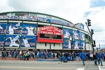 Sports enthusiasts love Wrigley Field, home of the World Champion Cubs
