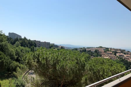 Adorable apartment near CityCenter-View on Perugia