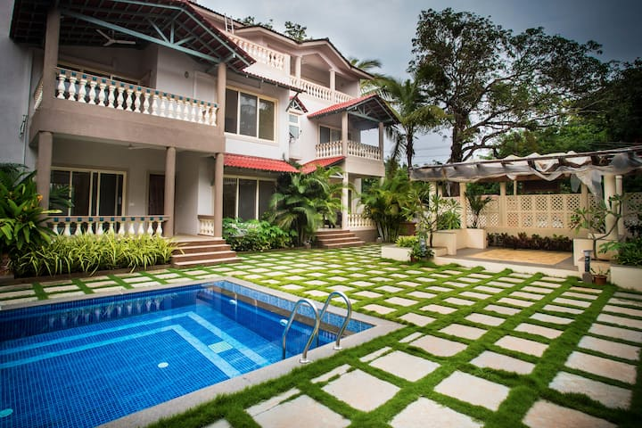 Luxurious 4 BHK Spanish style villa