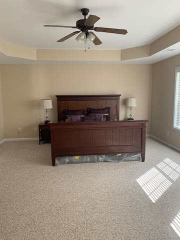 Executive Private Bedroom with connected Bathroom!
