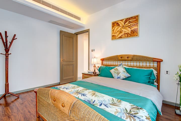 东南亚风格次房,150*200床