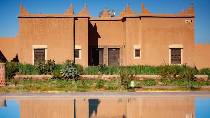Ecolodge l'île de Ouarzazate - Room for 1 to 6 p