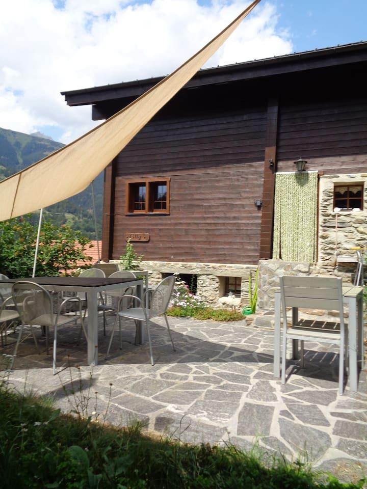 Ferienhaus Cilly, klein und gemütlich, ideal um auszuspannen.
