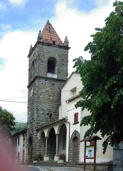 La piazza di Montagnana