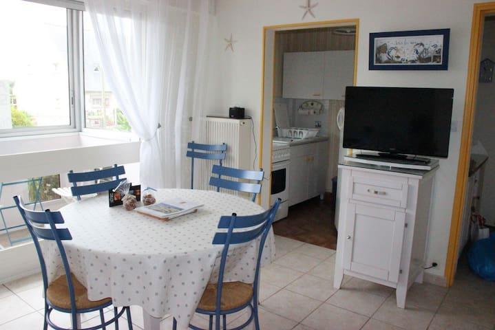 Appartement T2 Rotheneuf (Saint Malo) accès plage