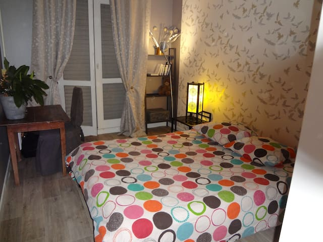 Quiet and Bright room in the city center. - Troyes - Apartemen