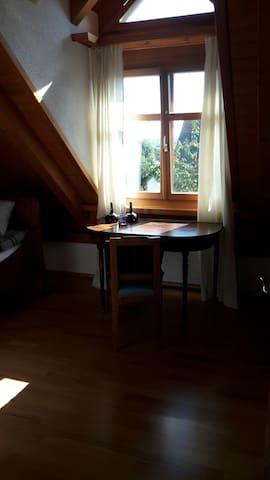 Schönes Zimmer am See für Wochenend-Heimfahrer - Triboltingen - Bed & Breakfast