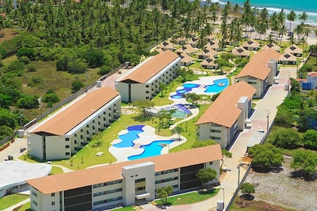Flat Praia dos Carneiros - Carneiros Beach Resort - Tamandaré