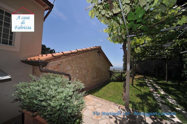 A casa di Fabrizia. - Monteggiori - Hus