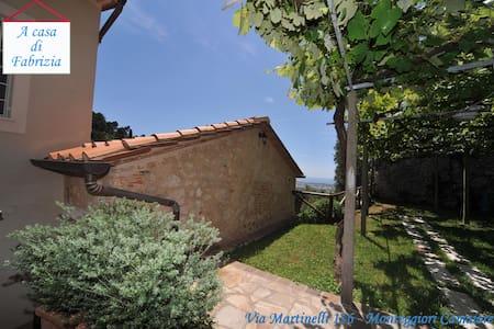 A casa di Fabrizia. - Monteggiori - Haus