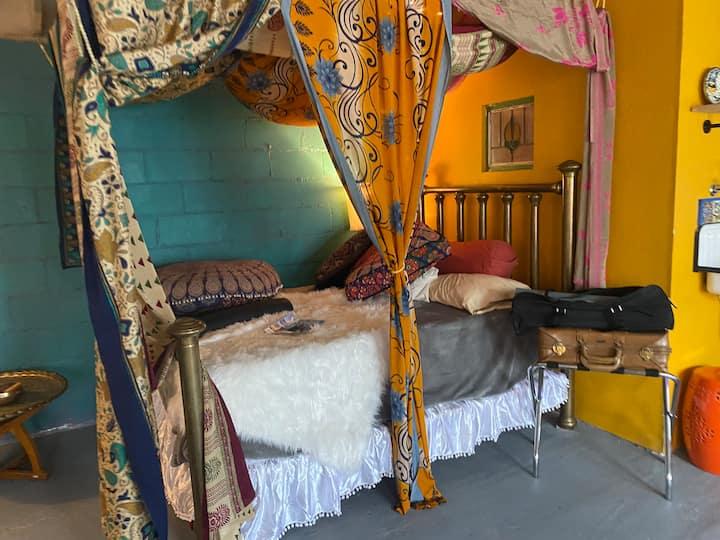 Colorful 550 Sq Foot Private Artist Studio