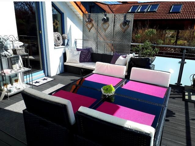 Kurort Niedenstein-Modernes Wohnen + Dachterrasse