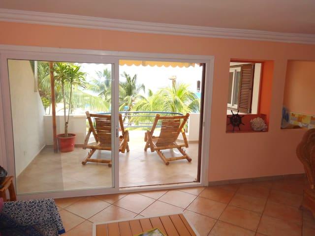 Living Area & Terrace 1