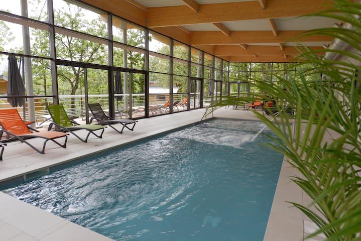 Chalet Duplex de 70 m² avec Piscine Chauffée