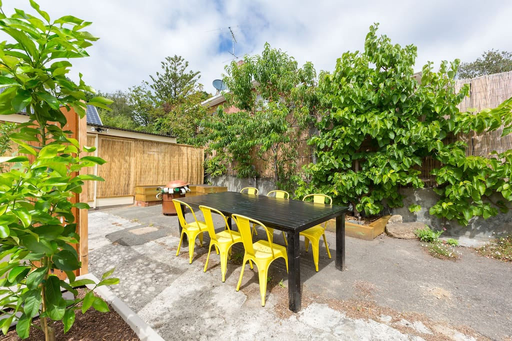 Your own private outdoor area
