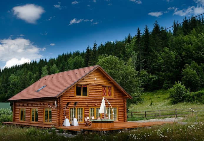 Magical log cabin in Dracula land! - Izvoare - Chalé