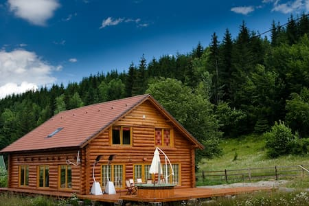 Magical log cabin in Dracula land! - Izvoare - Xalet