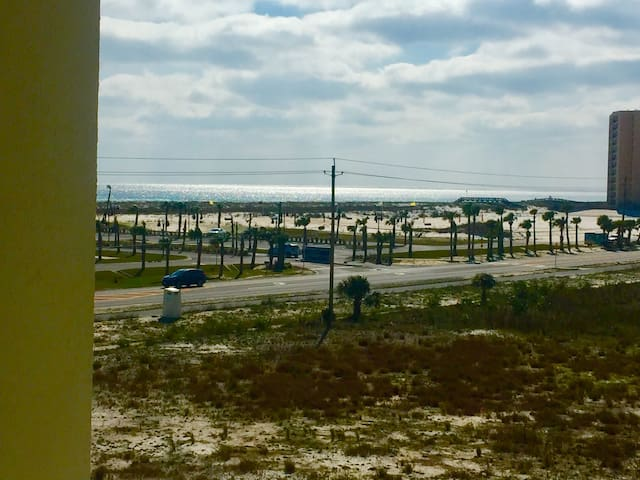 Beautiful views of ocean and bay from condo.