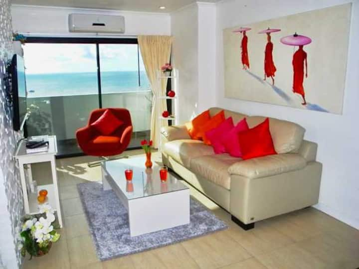 Amazing Seaview Apartment 100m to Patong Beach