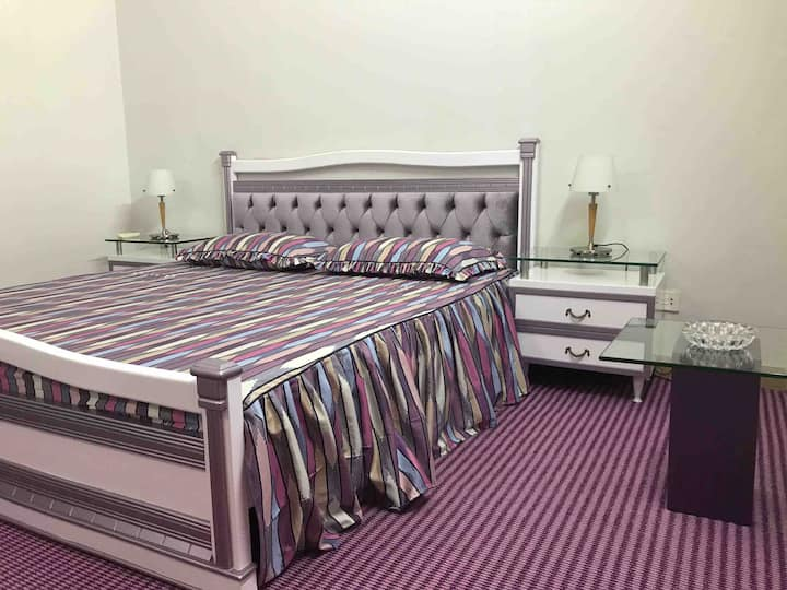 A cozy bedroom for two in Gulshan-e-Iqbal