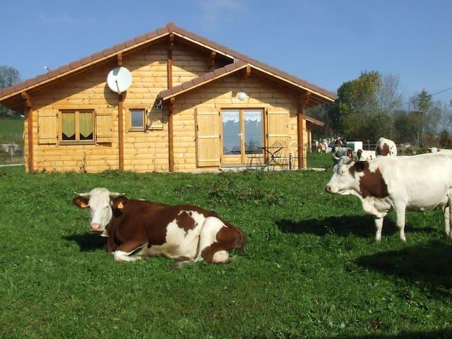 LES CHALETS A LA FERME (avec sauna) - Lent - Dům