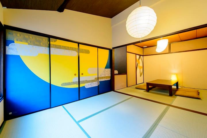 RO3M 1stop to Kyoto sta, Japanese traditional room