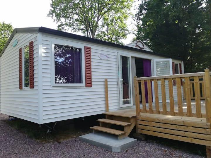 Mobil-home 4 places proche Deauville et Honfleur