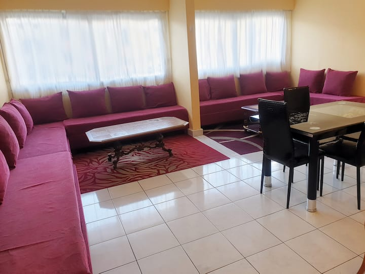 Spacious appartement (160m²) for large groups