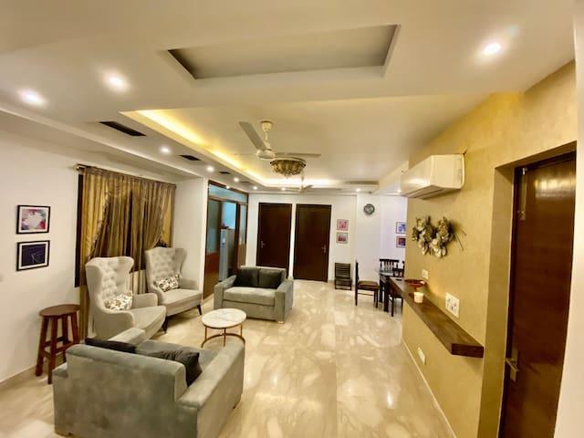 Located in a convenient Central Delhi location.